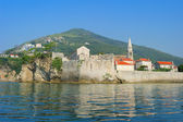Old town of Budva, Montenegro — Stock fotografie