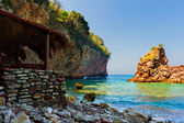 Adriatic coast, Montenegro — Stockfoto