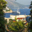 Stock Photo: Ship at anchor, Dubrovnik, Croatia
