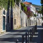 Street of the city of Dubrovnik, Croatia — Stock Photo