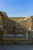 The Palace of Knossos, Crete, Greece — Stock Photo