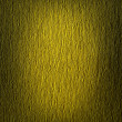 Yellow volumetric texture with vignette — Stock Photo