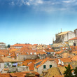 Stock Photo: Tiled roofs of the old town