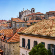 Tiled roofs of the old town — Stock Photo