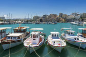 Boats at Harbor — Stockfoto