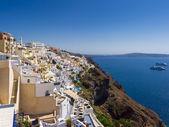 Colorful buildings of Santorini, Greece — Stock Photo