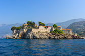 The old city on a rocky island — Stock Photo