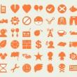 Miscellaneous symbol icon set no frame for web and mobile01 — Stock Vector