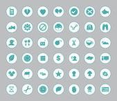 Miscellaneous symbol icon set for web and mobile 02 — Stock Vector