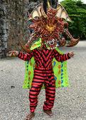 Panama kostüm adam — Stok fotoğraf