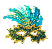 Carnival mask isolated — Stock Photo