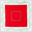 Stock Photo: Christmas red cloth