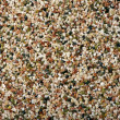 Multicolored natural marble chip plaster  — Stock Photo