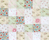 Patchwork Quilt pattern — Stock Photo