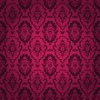 Dark red seamless pattern. Gothic style. — Stock Vector