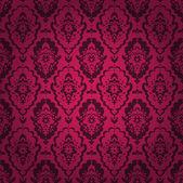 Nahtlose Muster, dunkel-rot. Gotik. — Stockvektor