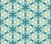 Seamless pattern with rhombus swirls — Stock Vector