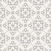 Damask seamless pattern. — Vettoriale Stock