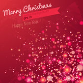 Рождество искрится фон — Cтоковый вектор