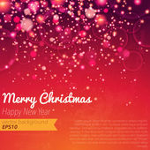 Glitter Christmas background — Stock Vector