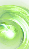 Green abstract circle light background — Stock Photo