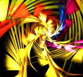 иллюстрация абстрактной фрактал — Стоковое фото