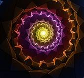 Abstract fractal illustration — Stock Photo
