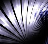 ブルーの詳細なフラクタル イラスト背景 — ストック写真