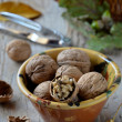 Group of walnuts — Stock Photo #34404799