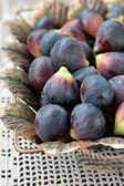 Fresh purple figs — Stock Photo
