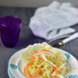 Stock Photo: Chinese cabbage salad.