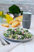 Broccoli salad. — Stock Photo