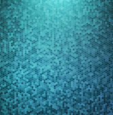 Pozadí abstraktní modrá mozaika — Stock vektor