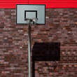 Stock Photo: Outdoor basketball palisade
