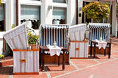 Restaurant terrace — Stock Photo