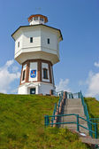 Water tower on the island — Stockfoto