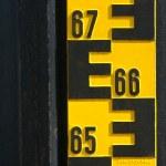 Water level indicator — Stock Photo