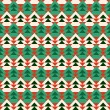 Abstract christmas tree pattern.  — Stock vektor