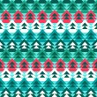 Abstract christmas tree pattern. Vector illustration — Vektorgrafik