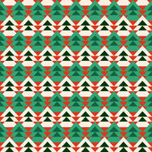 Abstract christmas tree pattern. — Stock Vector