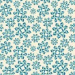 Christmas seamless pattern with snowflakes. — Stock Vector