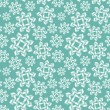 Christmas seamless pattern with snowflakes. — Stockvectorbeeld