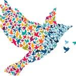 Abstract bird. — Stock Vector