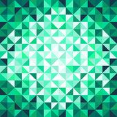 Abstract geometric background. Green. — Stockvektor