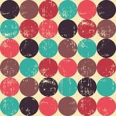 Circle seamless pattern. — Stock Vector