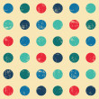 Circle seamless pattern — Stock vektor