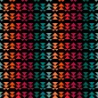 Seamless abstract pattern with triangle — Stock vektor
