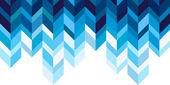 Geometric background, blue — Stock Vector