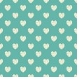 Seamless pattern with heart — Vector de stock