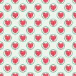 Seamless pattern with heart — Stock Vector
